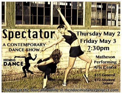 """Mendocino Dance Project Presents """"Spectator"""" A Con..."""