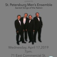 The WCA Presents: The St. Petersburg Men's Ensemble