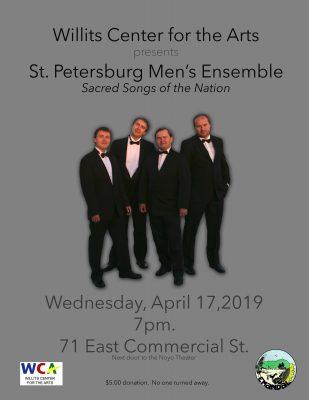 The WCA Presents: The St. Petersburg Men's Ensemble