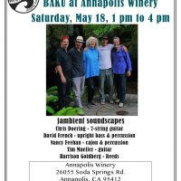 Whale & Jazz Festival: BAKU at Annapolis Winery
