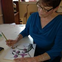 Chinese Brush Painting with instructor Andrea Allen