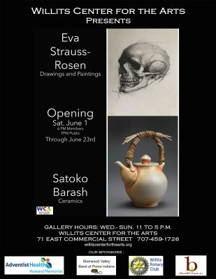 The Willits Center for The Arts Presents: Eva-Stra...