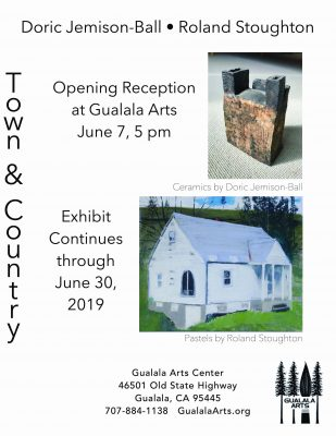 Town & Country. Roland Stoughton and Doric Jemison-Ball II Opening Reception