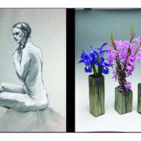 "Dolphin Gallery Presents Harald Eric Nordvold, Ceramics, and CC Case, ""Nudes and More""."