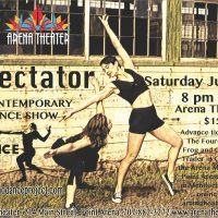 Spectator with the Mendocino Dance Project
