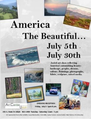 """America The Beautiful"" Juried Art"
