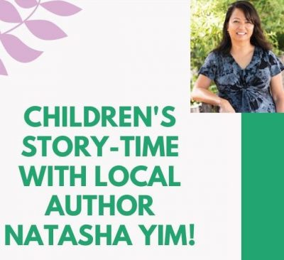 Children's Storytime with Author Natasha Yim