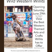 Wild Western Willits Arts & Crafts Opening & Show