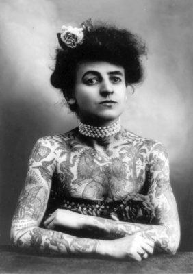 Tattooed and Tenacious: Inked Women in California's History