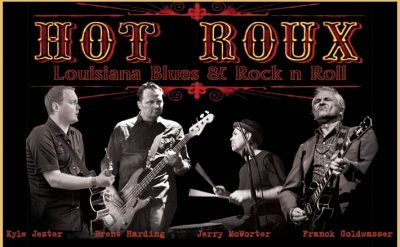 """""""Hot Roux"""" Band at Blue Wing Monday Blues"""
