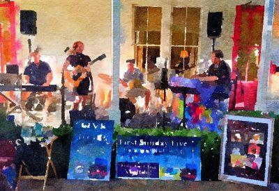 Steve Lucky Band Headlines Blue Wing Birthday Bash