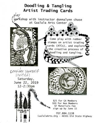 Doodling & Tangling: Artist Trading Cards With...