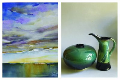 The Dolphin Gallery Presents Carol Chell, watercol...