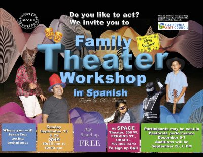 FREE Theater Workshops in Spanish