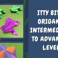 Itty Bitty Origami for Kids: Intermediate to Advanced Level