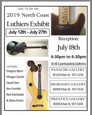 North Coast Luthier Exhibit