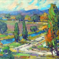 """Karl Dempwolf Exhibit: """"Listen to Gauguin, do not copy nature too closely, art is an abstract"""""""