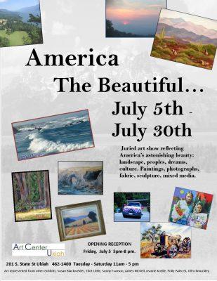 """America The Beautiful"" Juried Art"
