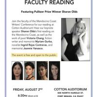 MCWC Faculty Readings