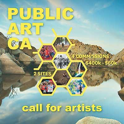 Public Art CA Open Call for Artists