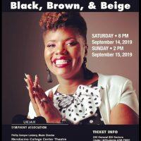 "Ukiah Symphony presents: ""Black, Brown, and Beige"""