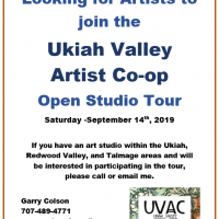 Looking for Artists to join the UVAC Open Studio Tour