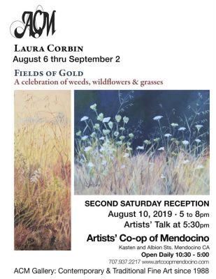 """Fields of Gold"" featured August artist: Laura Cor..."