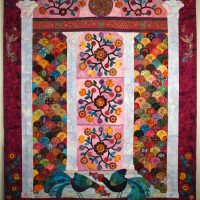 """Well-Traveled"" - Juried Quilt Show"