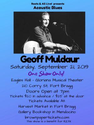 An Evening With Geoff Muldaur