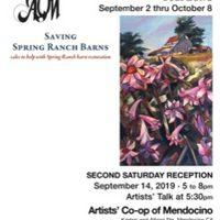 Spring Ranch Barns by Suzi Long