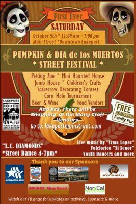 Pumpkin Fest & Dia de los Muertos