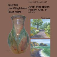 The Willits Center for The Arts Presents: Nancy New, Lynne Whiting Robertson & Robert Yelland