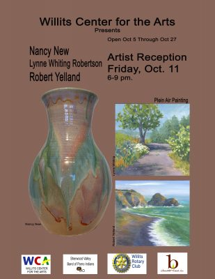 The Willits Center for The Arts Presents: Nancy Ne...