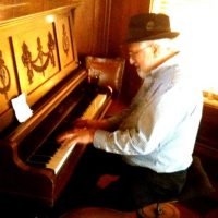 Pianist David Neft at Blue Wing Sunday Brunch