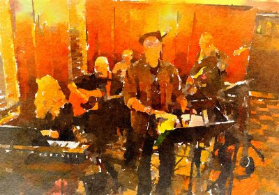"""""""Without a Net"""" Band at Blue Wing Monday Blues"""