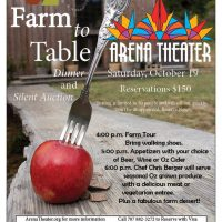 Fundraiser for Arena Theater