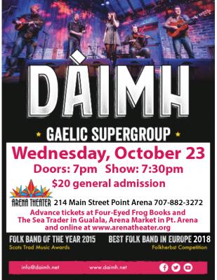 Daimh A Gaelic Supergroup