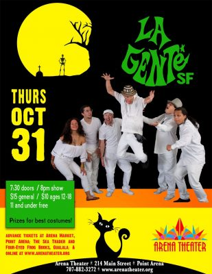 Halloween show with La Gente SF