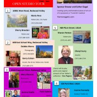 11th Annual Ukiah Valley Artist Open Studio Tour