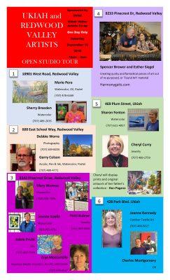 11th Annual Ukiah Valley Artist Open Studio Tour