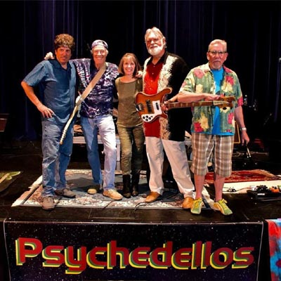 Jillian Billester Scholarship Benefit starring The Psychedellos and The Fargo Brothers