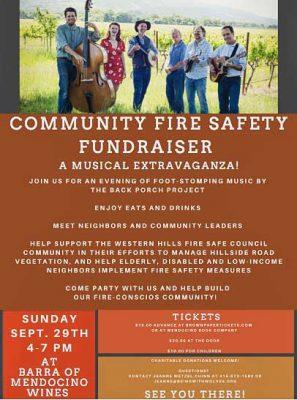 Festive Fundraiser for Western Hills Fire Safe Council