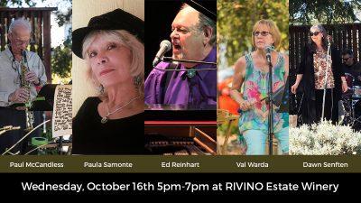 Wine Wednesday Jazz at RIVINO