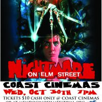 Nightmare On Elm Street - Oct 30th, Classic Film Series