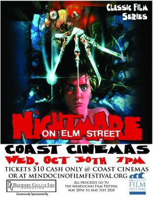 Nightmare On Elm Street - Oct 30th, Classic Film S...