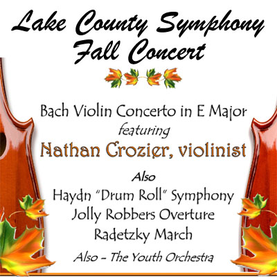 Lake County Symphony DRESS REHEARSAL Fall Concert