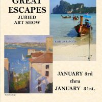 GREAT ESCAPES Art Center Ukiah Call For Artists