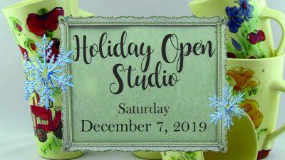 Holiday Open Studio