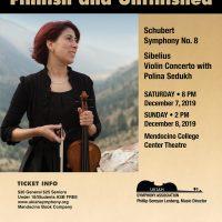 "Ukiah Symphony presents ""Finnish and Unfinished"""