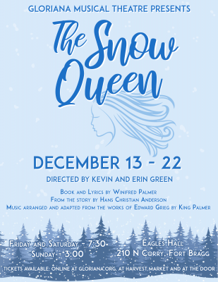 Gloriana presents The Snow Queen